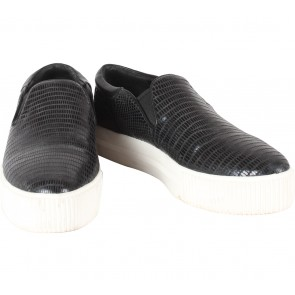 Ash Shoes Black Slip On Sneakers