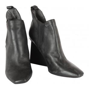 Jeffrey Campbell Black Heels Boots