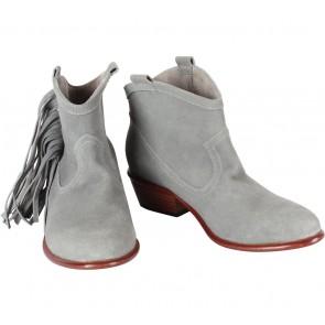 Magali Pascal Grey Fringe Boots