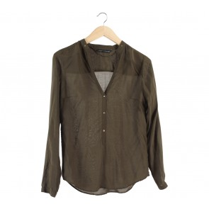 Zara Dark Green Blouse