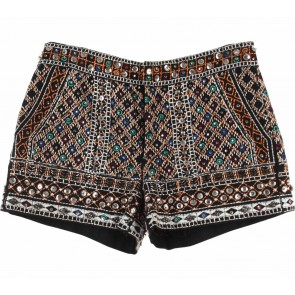 Zara Multi Colour Beaded Short Pants