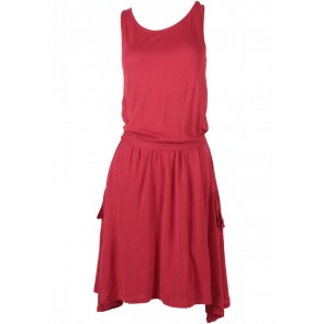 Mango Red Sleeveless Mini Dress