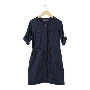 UNIQLO Dark Blue Mini Dress