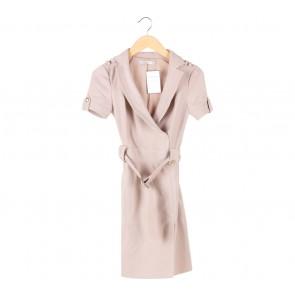 Karen Millen Cream Mini Dress