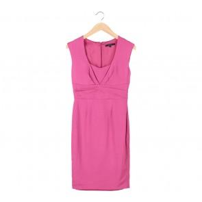 Coast Pink Midi Dress