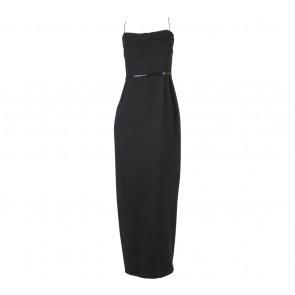 Biyan Black Long Dress