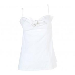 GAP Off White Tube Sleeveless