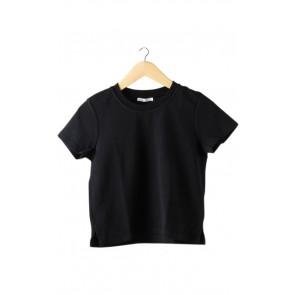 Black Knit T-Shirt
