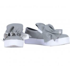 Shoe Corner Grey Flats