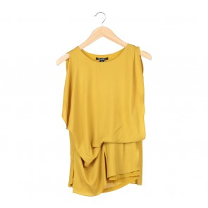 Kenneth Cole Yellow Blouse