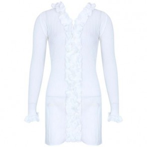 Anne Fontaine White Cardigan
