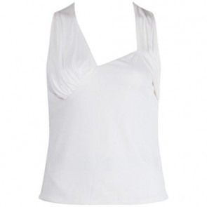 Gianni Versace Beige Sleeveless