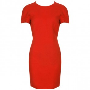 Gianni Versace Red Midi Dress