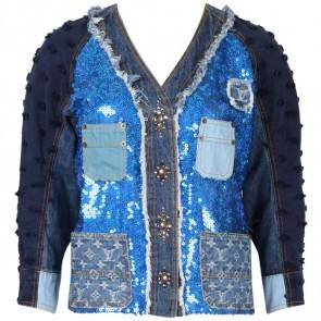 Louis Vuitton Blue Jaket