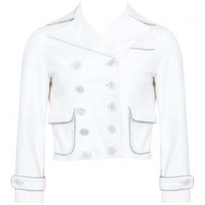 Louis Vuitton Off White Coat