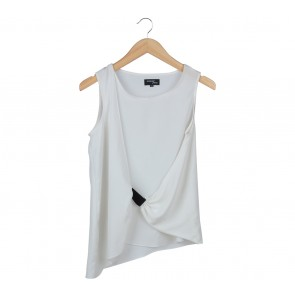 Hunting Fields Off White Layered Sleeveless