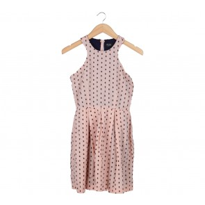 Picnic Peach Embellishment Mini Dress
