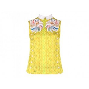 Peter Pilotto Yellow Blouse