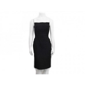 Philosophy by Alberta Ferretti Black Midi Dress