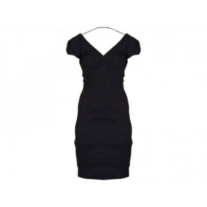 Rebecca Taylor Black Midi Dress