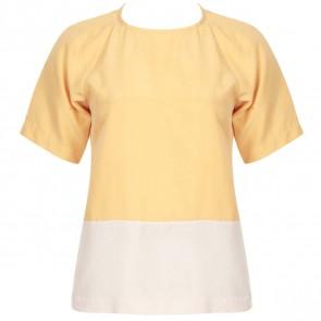 Tibi Yellow Shirt