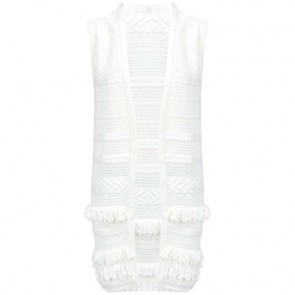 Vince Camuto White Vest