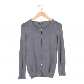 Zara Grey Knitted Cardigan