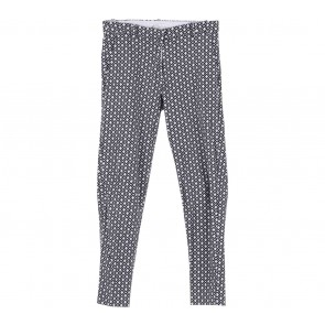 H&M White Patterned Pants