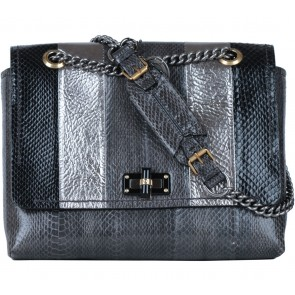 Lanvin Grey Shoulder Bag