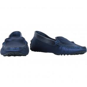 Tod´s Blue Satin Flats