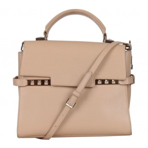 Charles and Keith Cream Handbag