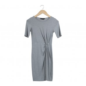 Dorothy Perkins Grey Mini Dress