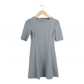 Zara Grey Mini Dress