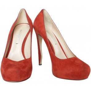 Nicholas Kirkwood Orange Heels