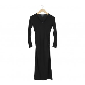 Witchery Black Midi Dress
