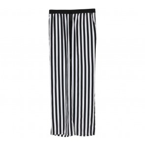Forever 21 Black And White Striped Pants
