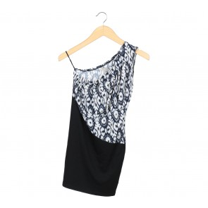 N.Y.L.A Black Sleeveless Mini Dress