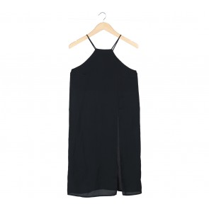 a.no.nim Black Slit Sleeveless