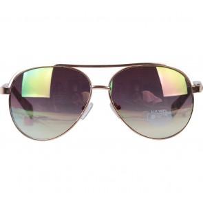 Stradivarius Gold Sunglasses