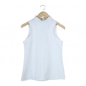 Love + Flair White And Black Sleeveless