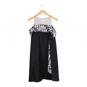 Seniman Kain Black Batik Mini Dress