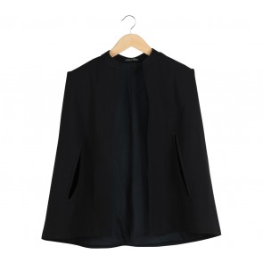 Marie & Frisco Black Cape Blazer