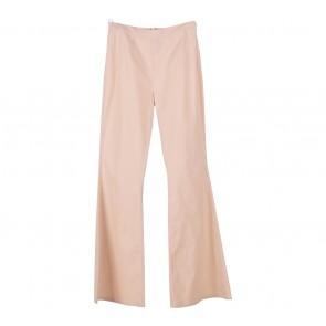 Paulina Katarina Cream Flare Pants