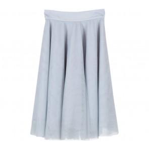 Maniere-E Grey Tulle Skirt