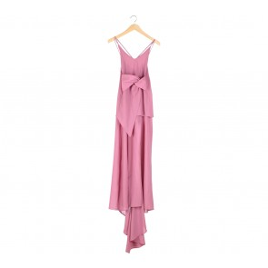 Paulina Katarina Pink Sleeveless Long Dress
