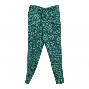 Black And Green Polka Dot Pants