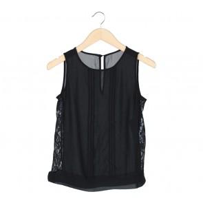 Black Combi Lace Blouse