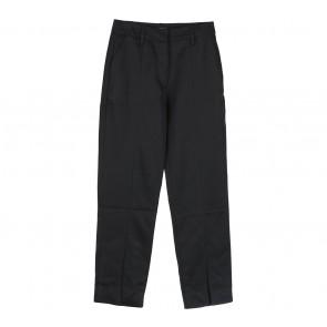 Auria Black Slit Pants