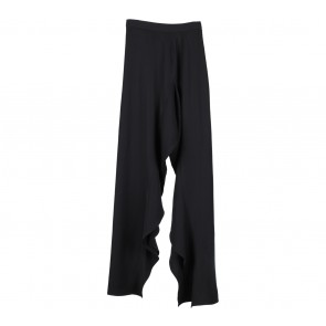 Stellarissa Black Slit Pants