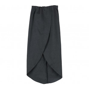Miroir Dark Grey Slit Skirt